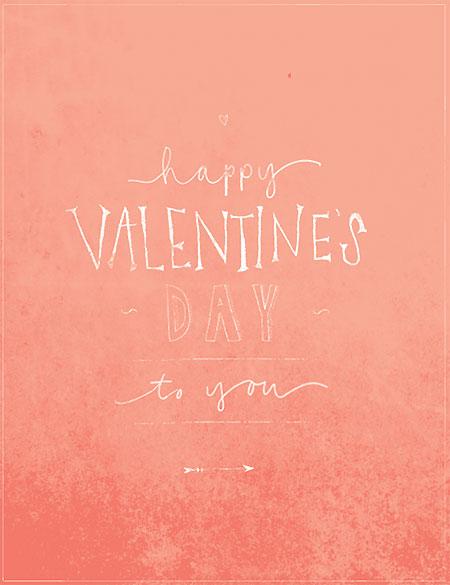 Free Valentine's Day download from Eva Black Design