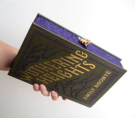 Wuthering Heights Book Clutch - Chick Lit Designs