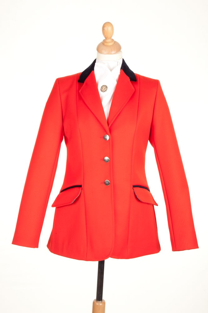 La S Red Show Jumping Jacket