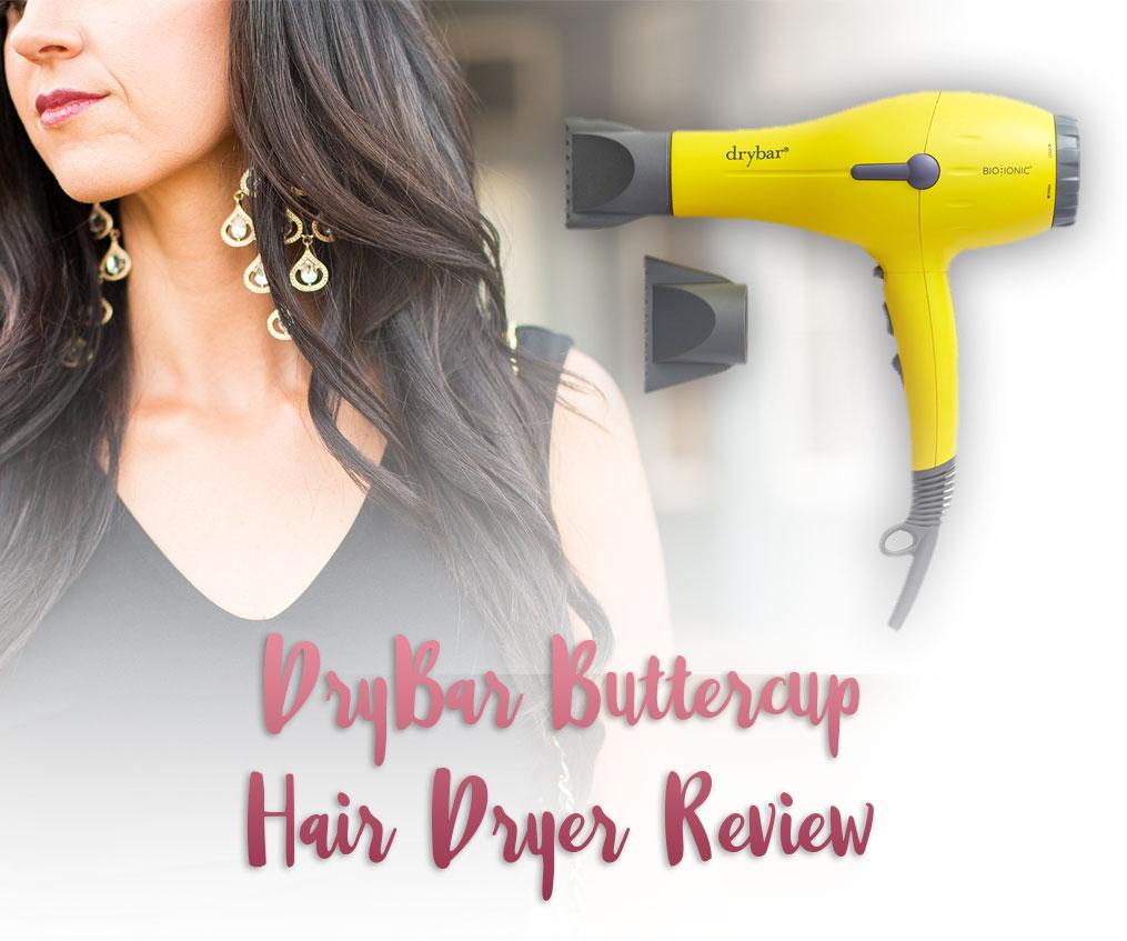DryBar Buttercup Hair Dryer Review Pretty Pure Best Healthy