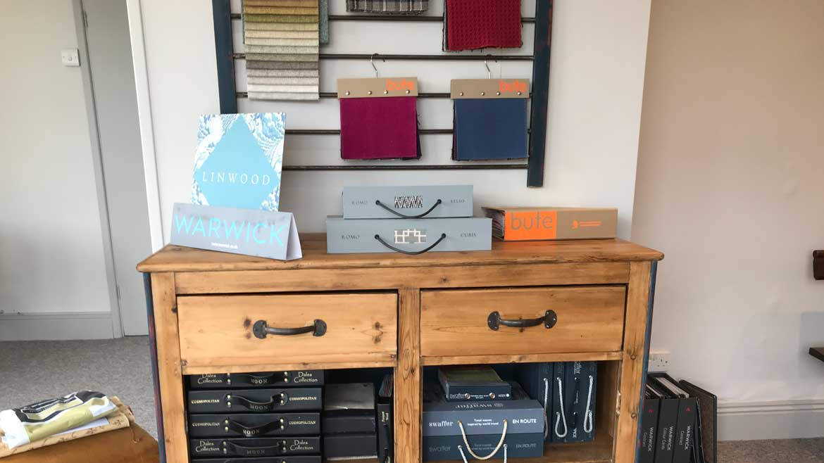 Fabric ranges now on display