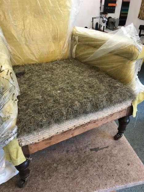 New evening classes in upholstery – starting November 2019