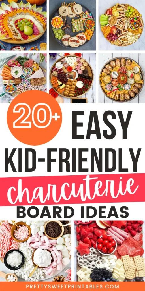 kid-friendly charcuterie board ideas