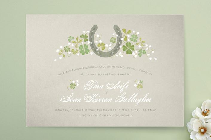 Irish Celtic Wedding Invitation Ideas