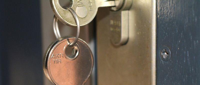 serratura sloccata