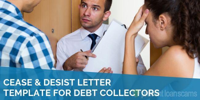 Cease Desist Letter Template For Debt Collectors 2020 S