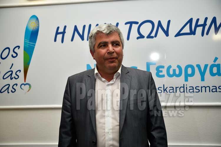 Δήμαρχος Πρέβεζας ο Νίκος Γεωργάκος: Είμαστε έτοιμοι για δουλειά_5e066d72bb060.jpeg