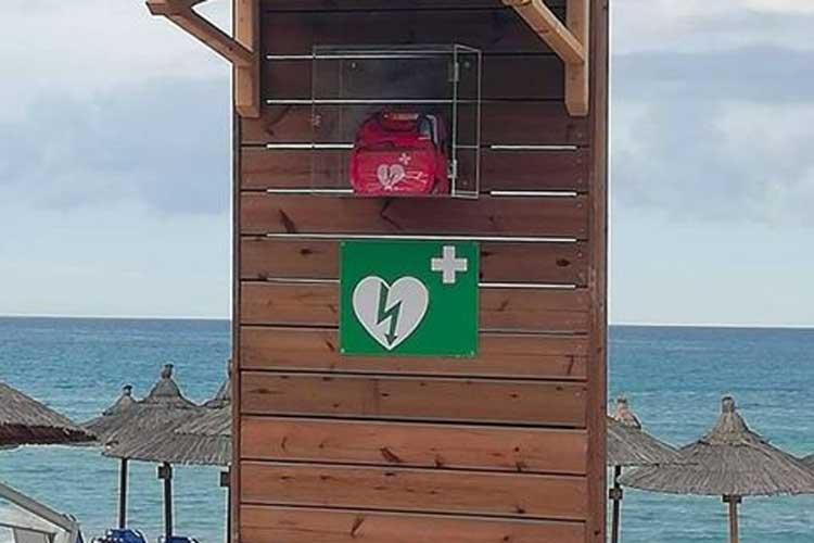 Παραλία Λούτσας Βράχου στην Πρέβεζα – Η πρώτη στην Ήπειρο με Αυτόματο Εξωτερικό Απινιδωτή_5e05007c5201d.jpeg