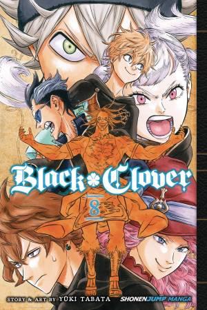BLACK CLOVER GN VOL 08