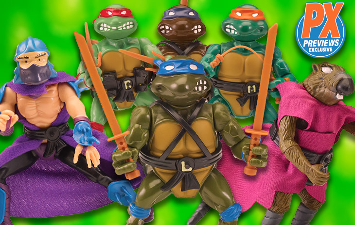 Classic Tmnt Action Figures Are Back In Previews Exclusive Box Sets Previews World