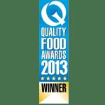 Prewetts Q Quality Food Awards Winner 2013