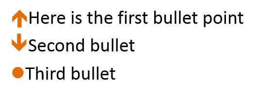 Meaningful Bullets