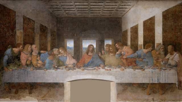 Da Vinci Last Supper Painting Example