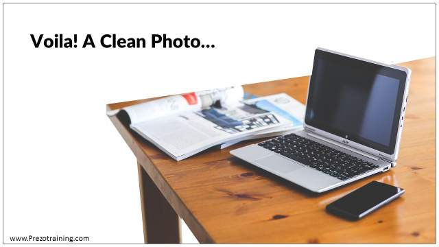 Cutout the Clutter In PowerPoint Photos With This Trick