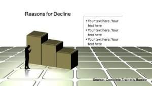 PowerPoint Decline Diagram