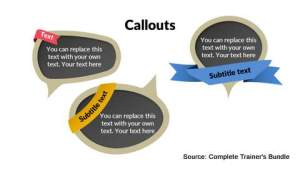 PowerPoint Assets Callouts