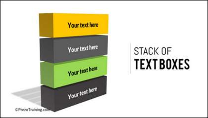 3D Text boxes in PowerPoint