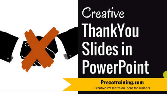 Creative Thank You Slide Ideas in PowerPoint