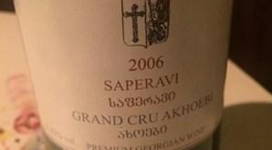 saperavi vino di georgia