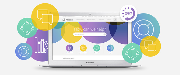 Introducing Priava's New Online Help Centre & Knowledge Base