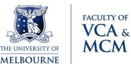 VCA & MCM Faculty