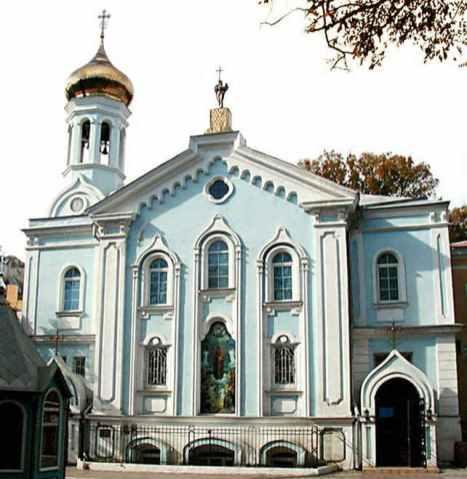 Церковь в честь Иконы Божьей Матери «Всех скорбящих радосте» (1849-1851). Арх. Ф. Моранди, И. Шашин.
