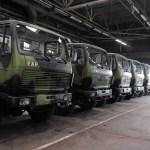 FAP do kraja juna završava proizvodnju deset kamiona za Vojsku Srbije