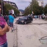 Saobraćajna nesreća ispred Crkve