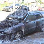 Zapaljen automobil na parkingu u starom delu Priboja