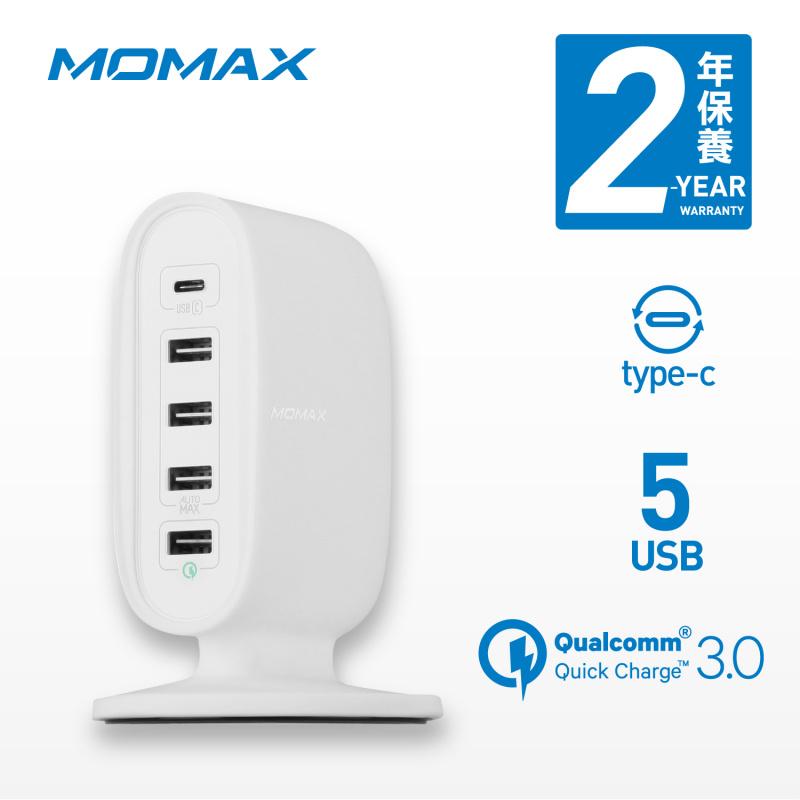 MOMAX U.Bull Type-C + Q.C 3.0 5 USB 數碼充電座 [2色] - MOMAX Store