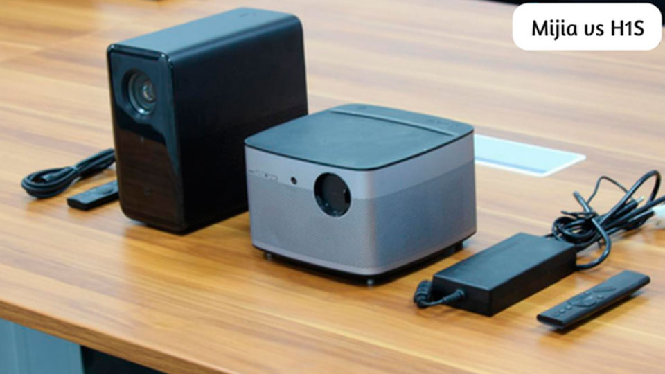 MiJia TYY01ZM VS XGIMI H1S, Which projector you should choose?