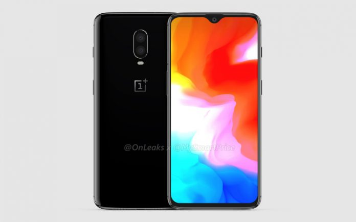 OnePlus 6T, new images confirm in-display sensor and notch waterdrop