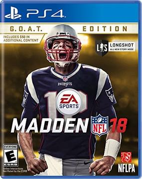Madden NFL 18 GOAT Edition Prices Playstation 4 Compare