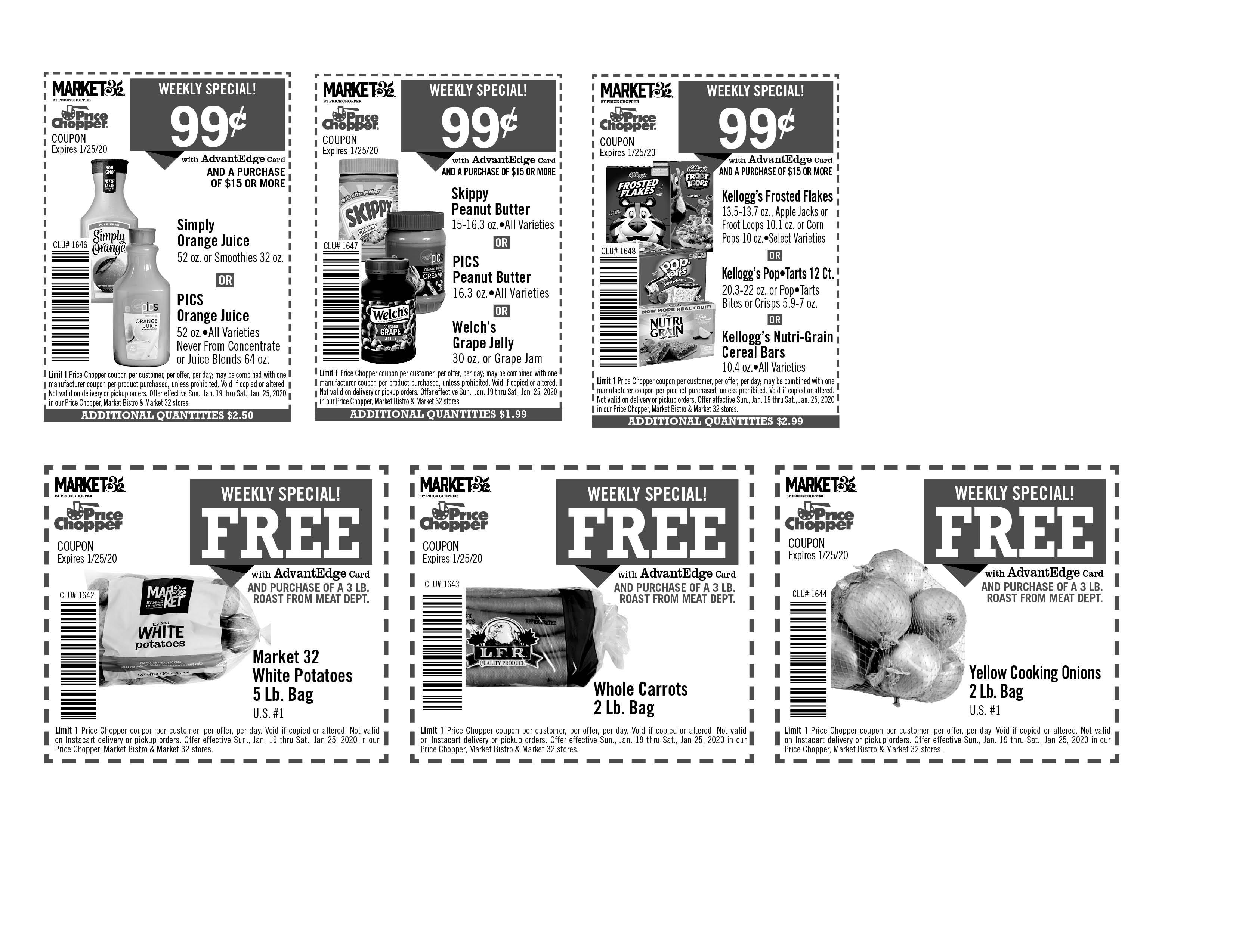 Printable Coupons Price Chopper Market 32