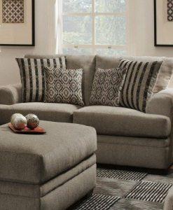 Stationary Sofa and Love seats
