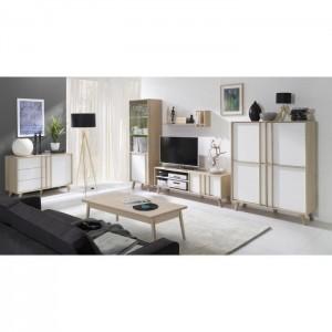 buffet enfilade bahut petit modele malmo meuble design type scandinave effet ultra tendance pour votre salon