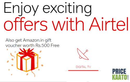 Amazon Airtel DTH Offer