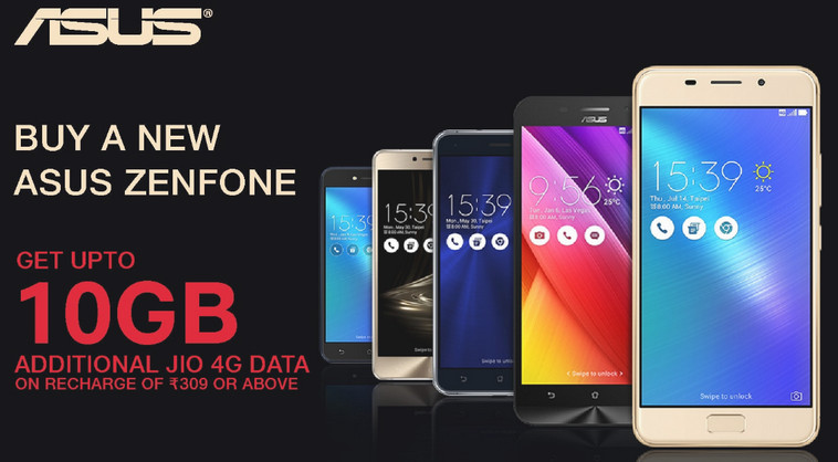 Jio Asus Offer Details