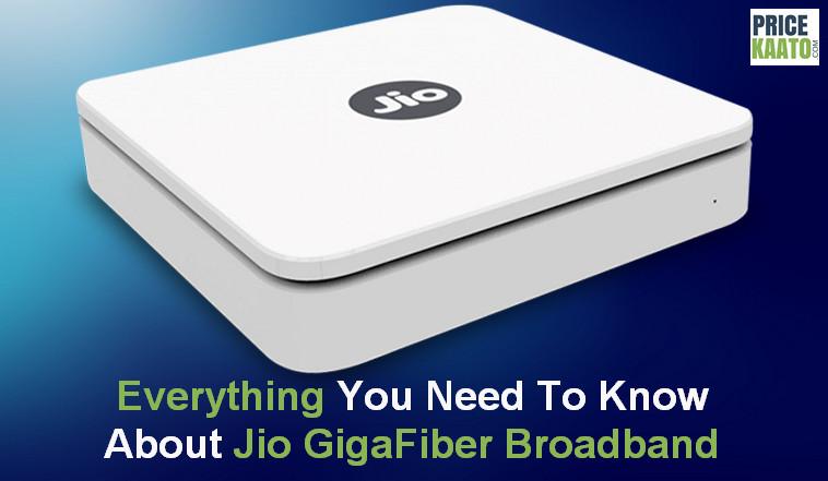 Jio Giga Fiber Broadband Plans