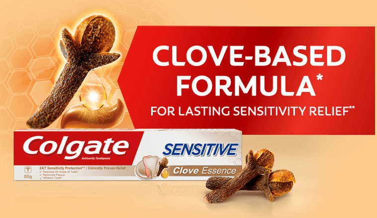 get free samples colgate sensitive clove toothpaste
