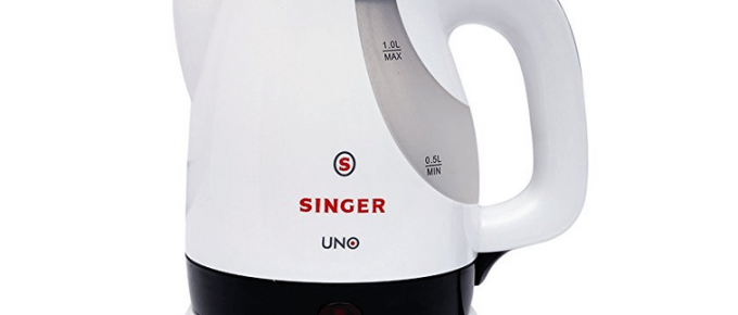 Singer Electric Kettle Offer Amazon Deal
