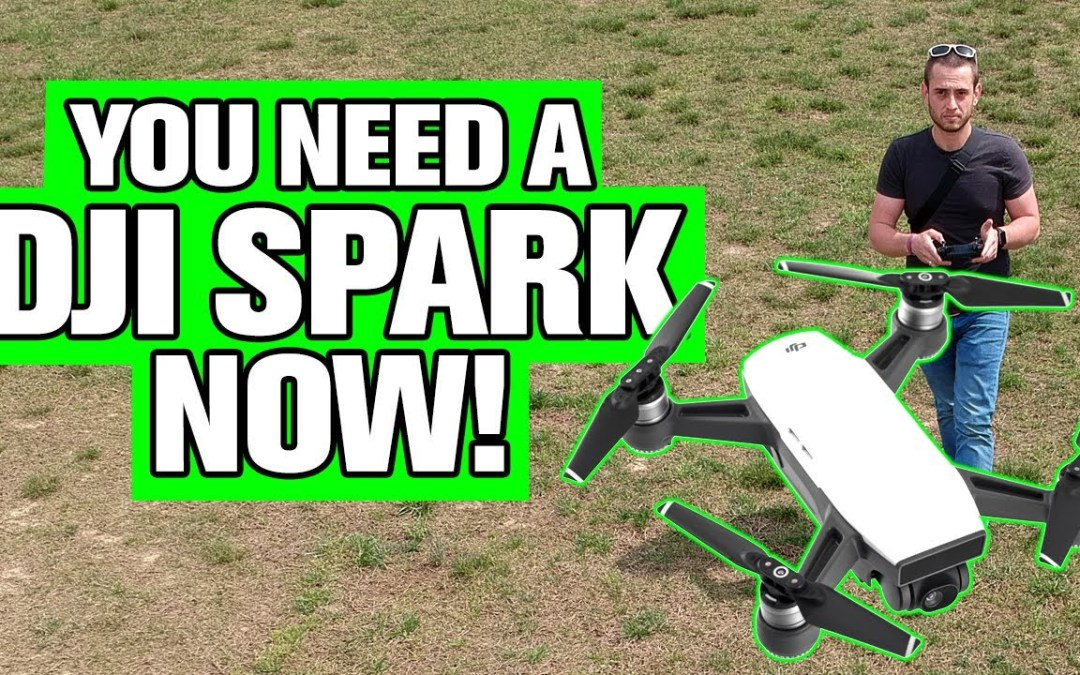DJI Spark Drone Is A Winner In My Book – My First Drone! (2019)