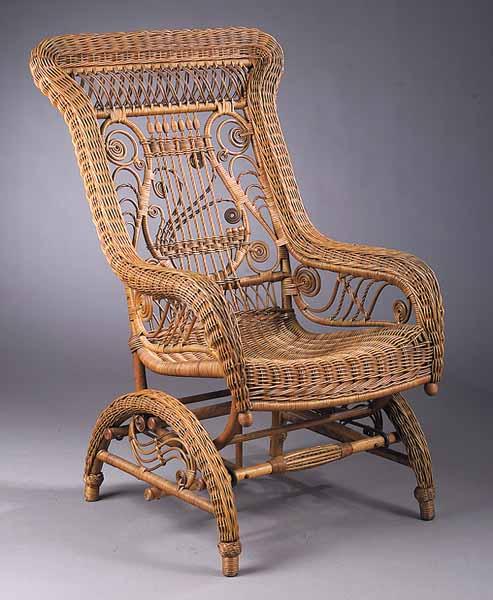 Cane Chair Rocking Antique Values