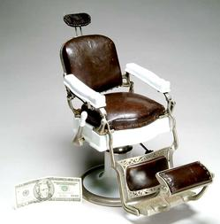 Barber Chair Koken Salesman Sample Porcelain Amp Nickel