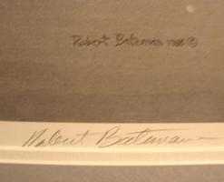 Bateman Robert McLellan Print Signed Great Egret 44 Inch