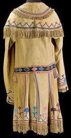shawnee clothing clothing shawnee coat beaded hide floral