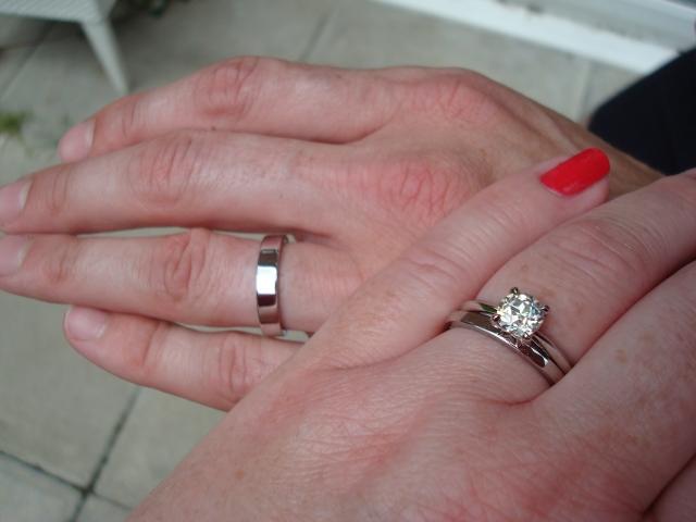 Mens Tiffany Lucida Wedding Band RockyTalky Diamond