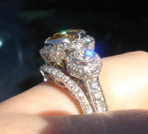 Show Me 25mm Pave Bands Engagement Rings Show Me The