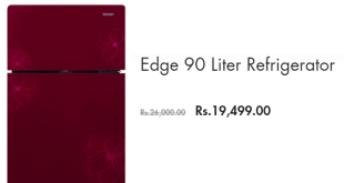 Orient Edge 90 Refrigerator Price In Pakistan 2019 New Fridge Model
