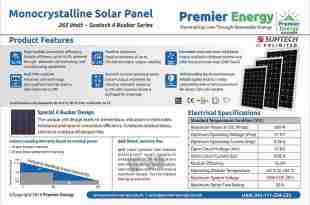 Monocrystalline Solar Panel Price In Pakistan